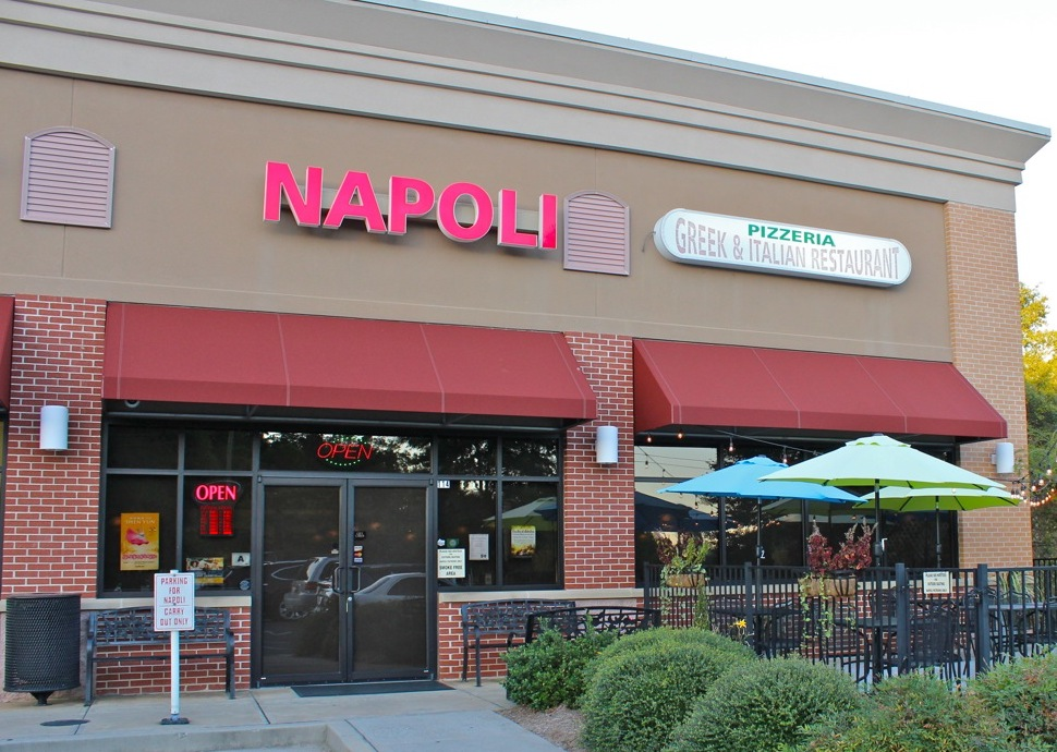 Napoli Pizzeria Greek Italian Restaurant Woodruff Rd